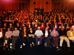 Week in pics: Wim Wenders: audience at the Curzon Mayfair