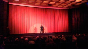 Week in pics: Wim Wenders: Wim Wenders talking