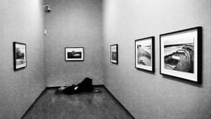Week in pics: Wim Wenders: Wim Wenders napping