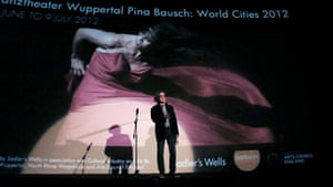 Week in pics: Wim Wenders: At the launch of the Pina Bausch marathon for the Olympics in London
