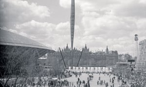 The Festival of Britain on the south bank, 1951