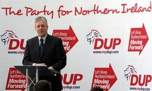 Peter Robinson, DUP, Northern Ireland