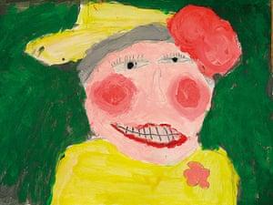 Portrait of the Queen : Portrait of Queen Elizabeth II by Cameron Molyneaux