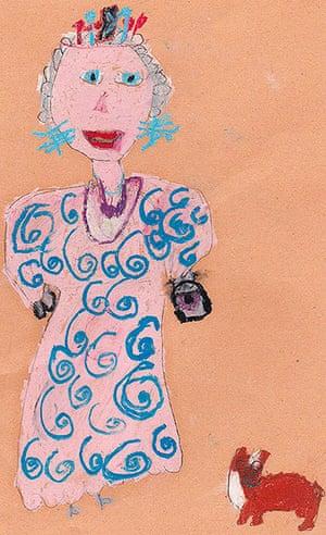 Portrait of the Queen : Portrait of Queen Elizabeth II by Jasmine Young