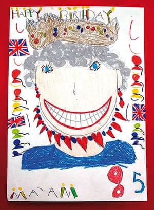 Portrait of the Queen : Portrait of Queen Elizabeth II by Charleigh Lavender