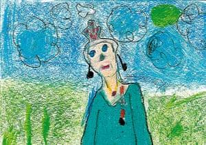 Portrait of the Queen : Portrait of Queen Elizabeth II by John McElroy