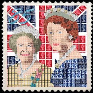 Portrait of the Queen : Portrait of Queen Elizabeth II by Tom Lund