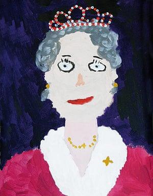 Portrait of the Queen : Portrait of Queen Elizabeth II by Lloyd Sandever