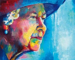 Portrait of the Queen : Portrait of Queen Elizabeth II by Alfie Glover-Short