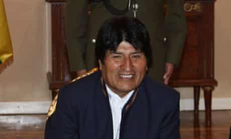 Bolivia accepts financial aid offer from US to monitor coca eradication