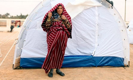 Libyan refugee from Nalut
