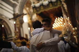from the agencies: Holy Week in Malaga