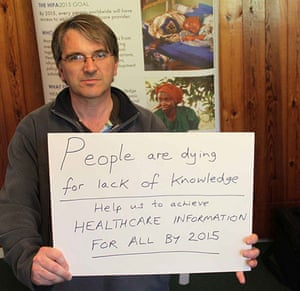 Healthcare messages: on Flickr