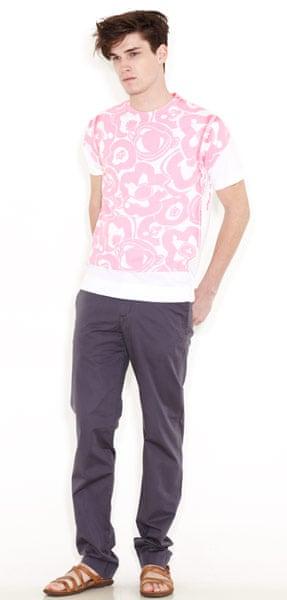 line-up: t-shirts: Fluoro print T-shirt