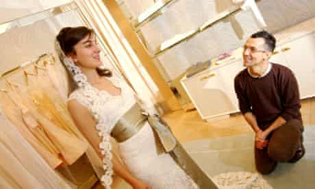 wedding planner and client
