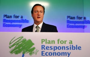 Tory green policy: David Cameron Attacks Brown`s Handling Of The Economy