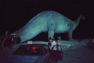 Wim Wenders: Dinosaur and Family, California, 1983