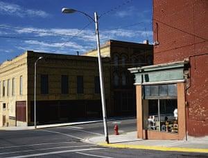 Wim Wenders: Street Corner Butte, Montana, 2003
