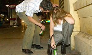 Teenage binge drinking