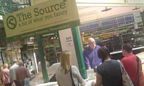 The source leeds market