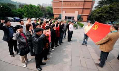 Red songs in Chongqing