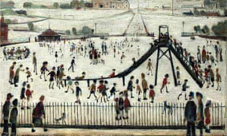 The Playground by LS Lowry