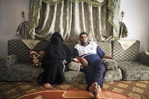 Guy Martin Libya: Shams Din Fadelala and his wife Swaarah