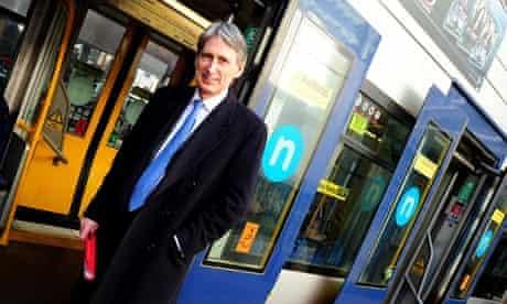 Secretary of State for Transport Philip Hammond is