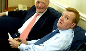 Menzies Campbell and Charles Kennedy