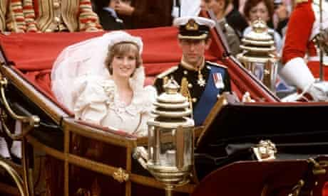 PRINCE CHARLES AND LADY DIANA SPENCER'S ROYAL WEDDING LONDON, BRITAIN - 1981