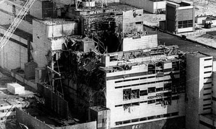 Chernobyl nuclear reactor No 4