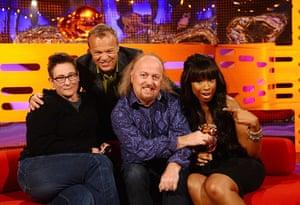 BAFTA TV Awards: The Graham Norton Show at the London Studios