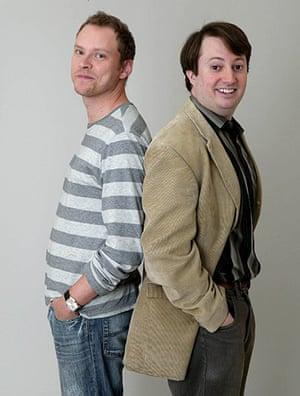 BAFTA TV Awards: Robert Webb and David Mitchell