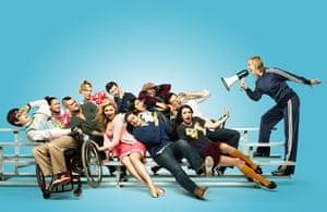 BAFTA TV Awards: The cast from Glee