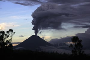 24 hours: The Tungurahua volcano in Ecuador