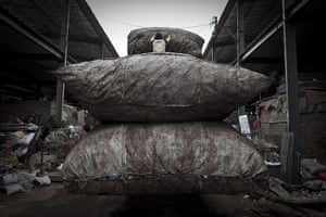 24 hours: recycling centre in  Beijing, China