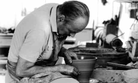 Adas Dworski in his studio