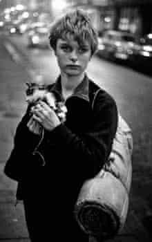 Bruce Davidson's 'Girl holding kitten', from 1960