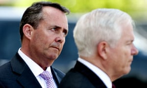 Liam Fox and Robert Gates