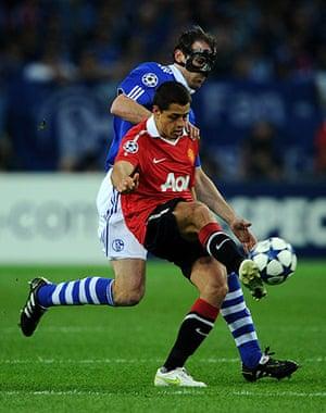 Champions League: Schalke 04 v Manchester United - UEFA Champions League Semi Final