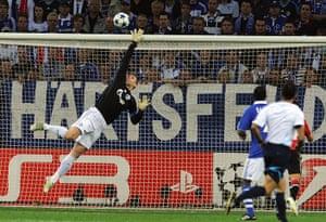 Champions League: football