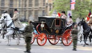 Royal Wedding rehearsal: Pre-dawn dress rehearsal for the royal wedding