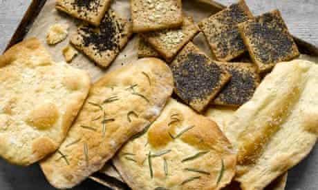 Artisan cheese crackers
