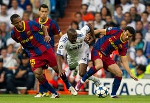 Champions League3: Lassana Diarra,  Seydou Keita, Pedro Rodriguez