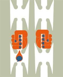 Guantanamo letters illustration