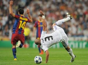 football: Real Madrid v Barcelona - UEFA Champions League Semi Final
