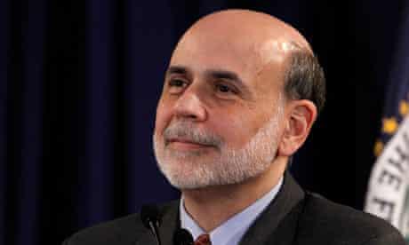 Ben Bernanke, chairman of the US Federal Reserve