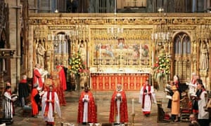 The Queen attends the ninth inauguration of the General Synod at Westminster Abbey last November