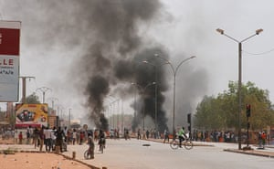 Africa Unrest: Burkina Faso student riots