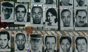 Victims who died in the bombed Cuban airliner in 1976